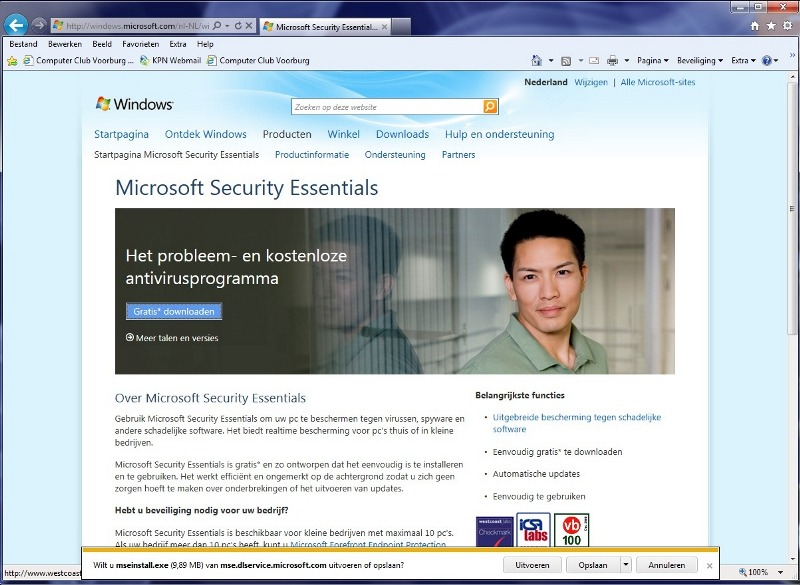 antivirus gratis microsoft